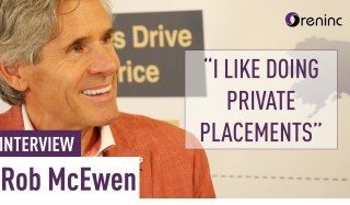 Rob McEwen: I like doing private placements - Interview